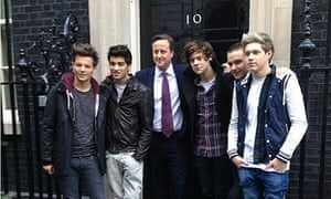 David Cameron to join One Direction … for charity single