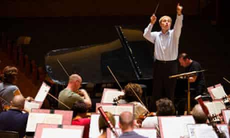 Vasily Petrenko rehearsing with the RLPO