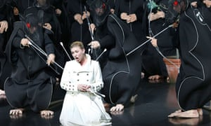 Annette Dasch as Elsa in Lohengrin, Bayreuth 2010