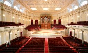interior of the Concertgebouw, Amsterdam