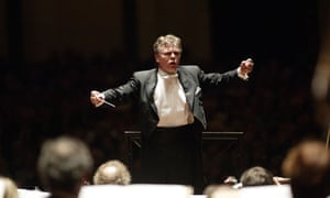 Mariss Jansons conducting the Concertgebouw orchestra