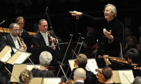 John Eliot Gardiner conducting the Bach Marathon