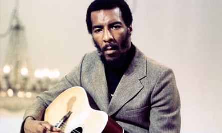 Richie Havens performs live for TV in Copenhagen, Denmark, in June 1969