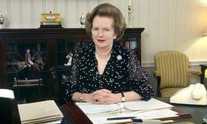 Margaret Thatcher in 1987