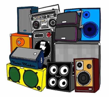 Soundsystem illustration
