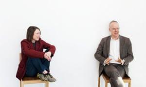 Sarah Lucas and Hans-Ulrich Obrist of art movement Do It