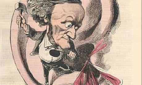 Wagner ear drum poster - detail