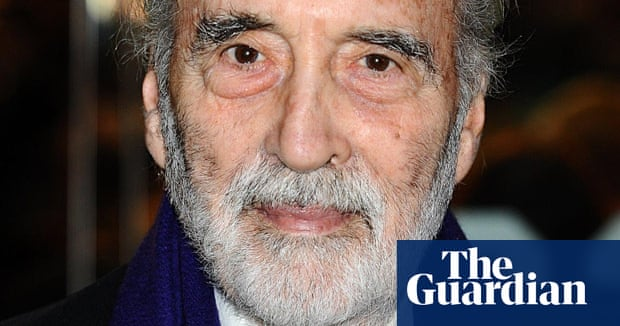 christopher lee dies at the age of 93 film the guardian - Christopher Lee Metal Christmas