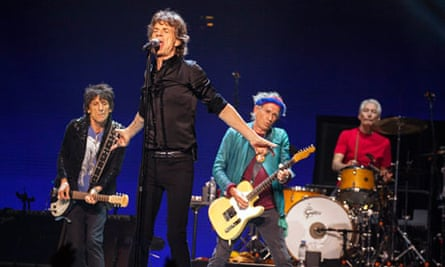 Glastonbury 2013 … the Rolling Stones will headline the Pyramid stage on Saturday night.