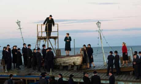 Peter Grimes on the beach