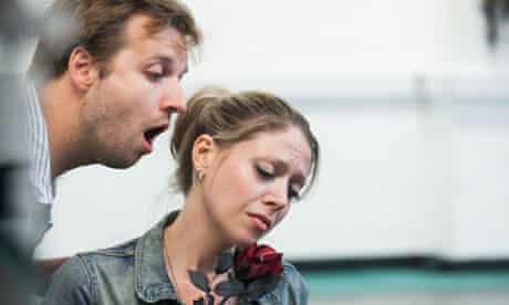 rehearsing The Killing Flower by Sciarrino
