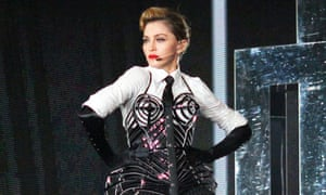 Madonna in concert in Moscow