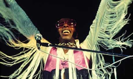 Sly Stone at Woodstock