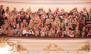 audience at Edinburgh Usher Hall