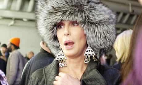 Cold shoulder … Cher has reported refusing an invitation to play at the Sochi Winter Olympics.