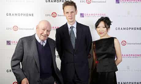 Gramophone Awards 2013: Julian Bream, Ian Bostridge and Xuefei Yang