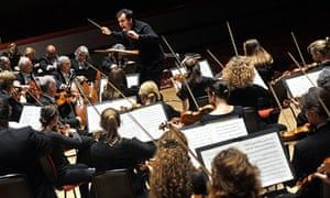 Mostly thrilling … Andris Nelsons conducting the CBSO.