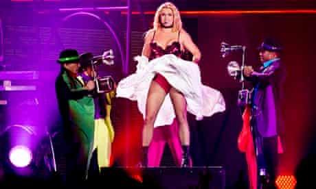 Britney Spears Femme Fatale tour in Antwerp