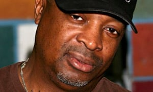 Rebel without a pause … Public Enemy's Chuck D in LA on Record Store Day.