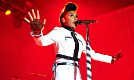 Janelle Monae Performs At Manchester Academy
