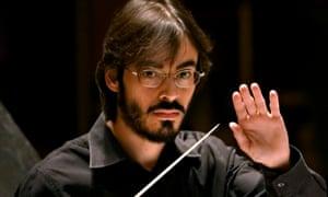 Unfamiliar guise … the conductor Ilan Volkov.