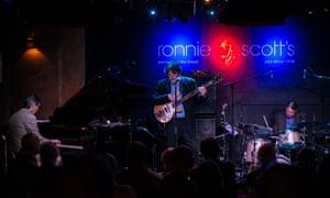 Engaging … Darius, Chris and Dan revisit Dave Brubeck's work at Ronnie Scott's, London.