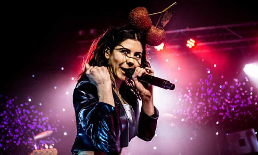 Marina and the Diamonds at Oslo in London.