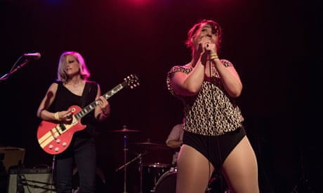 The Julie Ruin review – Kathleen Hanna fronts a playground translated into sound