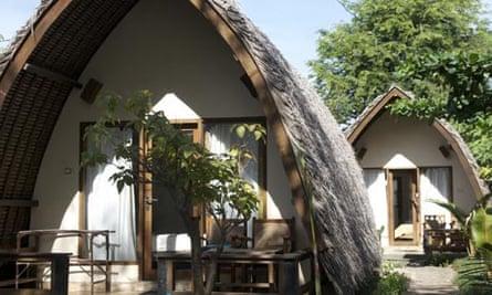 Dream Village accommodation on Gili Trawangan.