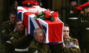 Lance Corporal Michael Pritchard funeral