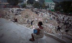haiti woman