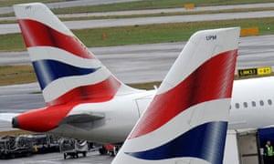 british airways merger