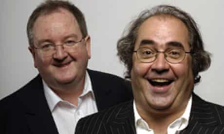 Danny Kelly and Danny Baker