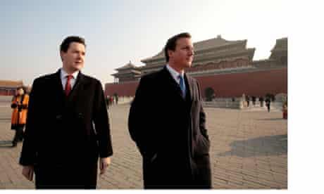 David Cameron visits China