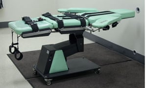 San Quentin lethal injection table.