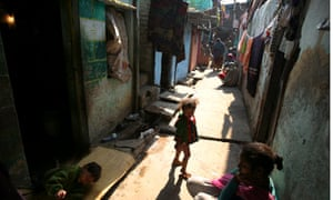 india slum