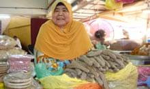 Keropok lekor vendor, Malaysia