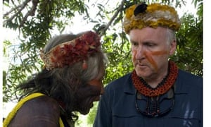 Filmmaker James Cameron in Brazil