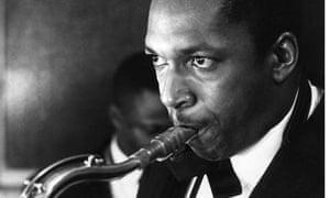 Jazz player John Coltrane