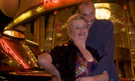 Susan and Darren Quarantine theatre company