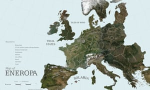 Map Of Uk 2050.Roadmap 2050 By Rem Koolhaas S Oma Architecture Review Art And