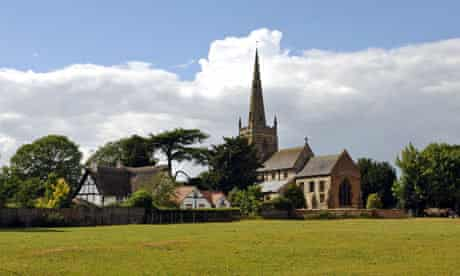 All Saints Church, Ladbroke, Warwickshire, England, UK