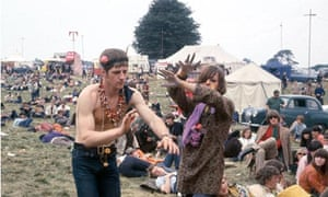 """People """"Swinging Sixties"""". pic:1967. People dancing at a """"Love-in"""" at Woburn Abbey, Bedfordshire."""
