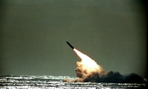 US Navy launches Trident missile
