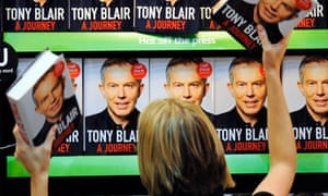 A Journey, the memoir of former Prime Minister Tony Blair, goes on sale