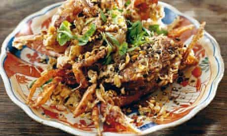 deep-fried crabs