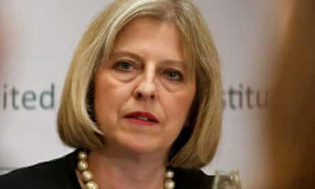 British Home Secretary, Theresa May