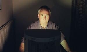 Writer John Naughton pictured at home.