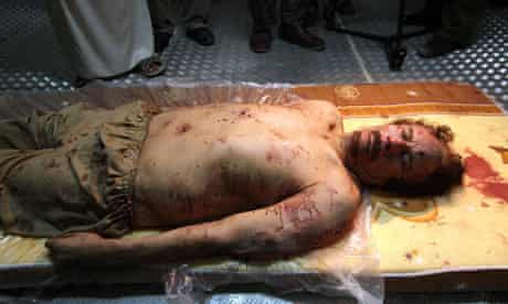 Gaddafi confirmed dead