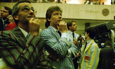 London Stock Exchange traders